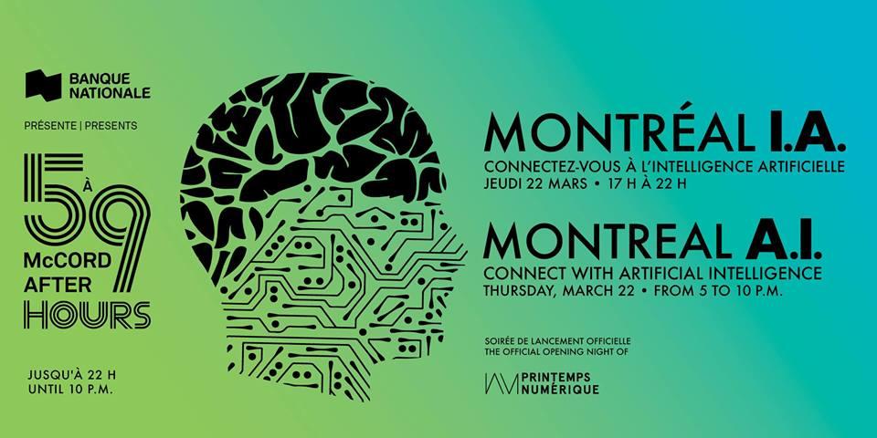 Printemps numérique X 5 à 9 au McCord – Montréal I.A.