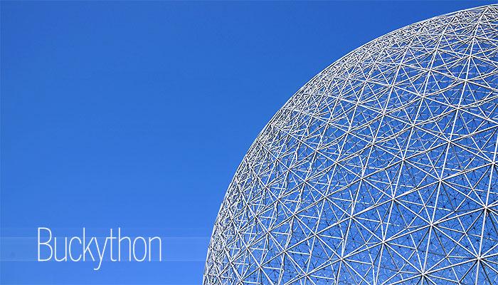 Buckython : réinventer la Biosphère de Buckminster Fuller en 48h