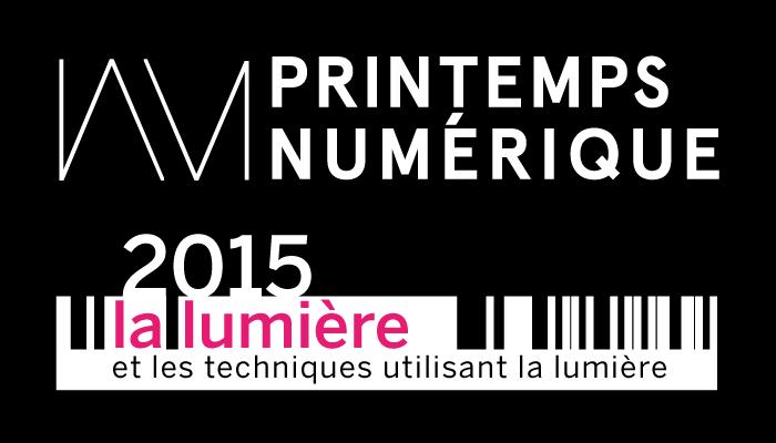 Le Printemps numérique célébrera la lumière en 2015