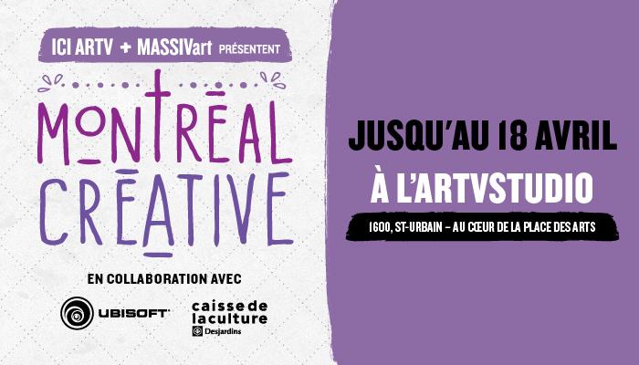 Montréal Créative, où l'art fait vibrer la ville