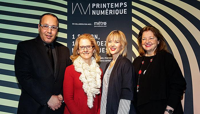 Plus d'un demi-million de Montréalais conquis par la saison du numérique