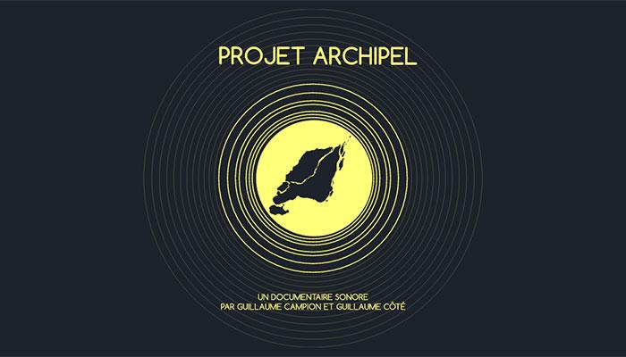 Projet Archipel au RIDM