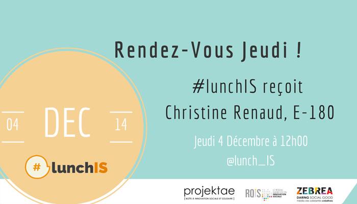 #lunchIS fera résonner l'innovation sociale québécoise sur la twittosphère
