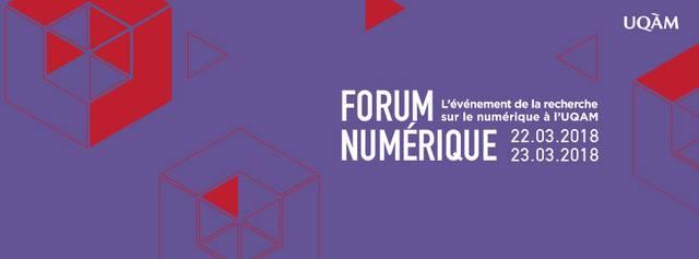 Forum numérique à l'UQAM
