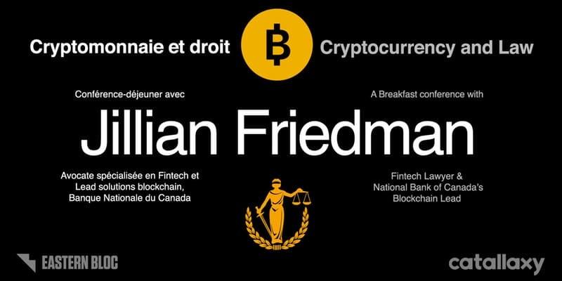 Conférence sur la cryptomonnaie et le droit