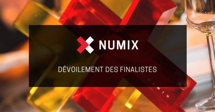 Dévoilement des finalistes des prix Numix 2018
