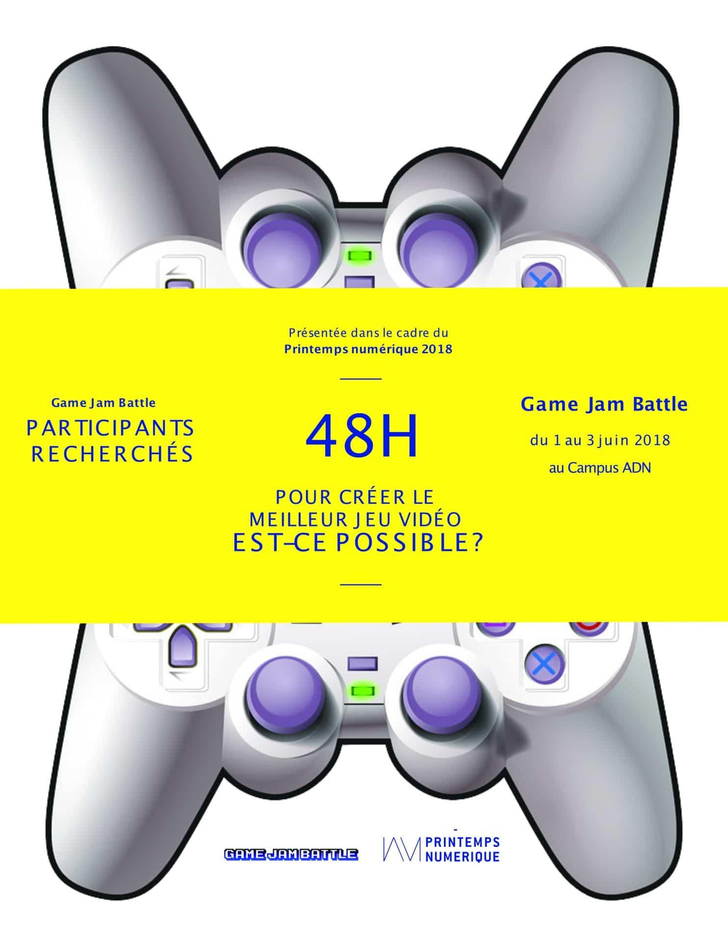 Game Jam Battle 2018