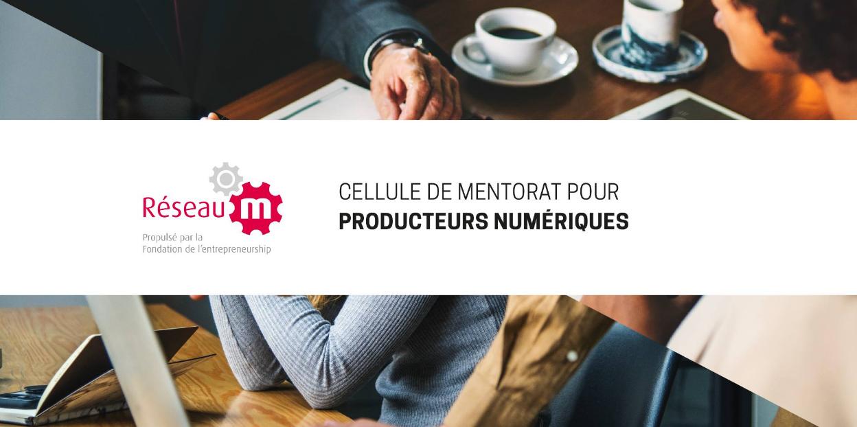Rencontre d'introduction | Mentorat pour producteurs numériques