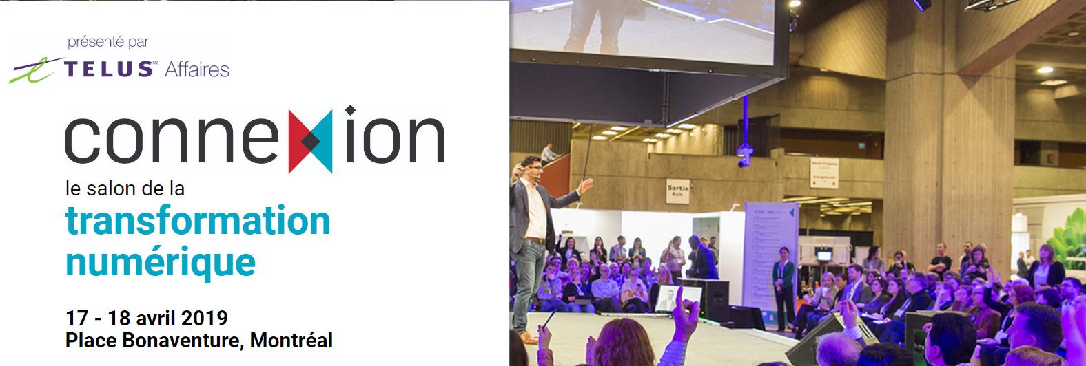 Connexion : le salon de la transformation numérique