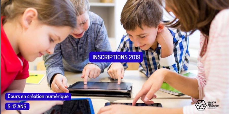 Cours en création numérique / session printemps 2019