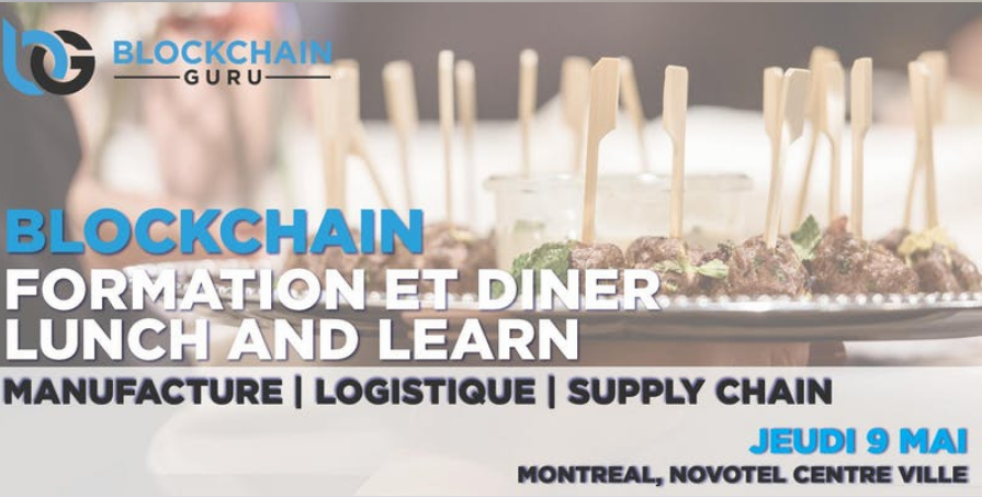 Blockchain Formation Dîner – Blockchain Lunch and Learn