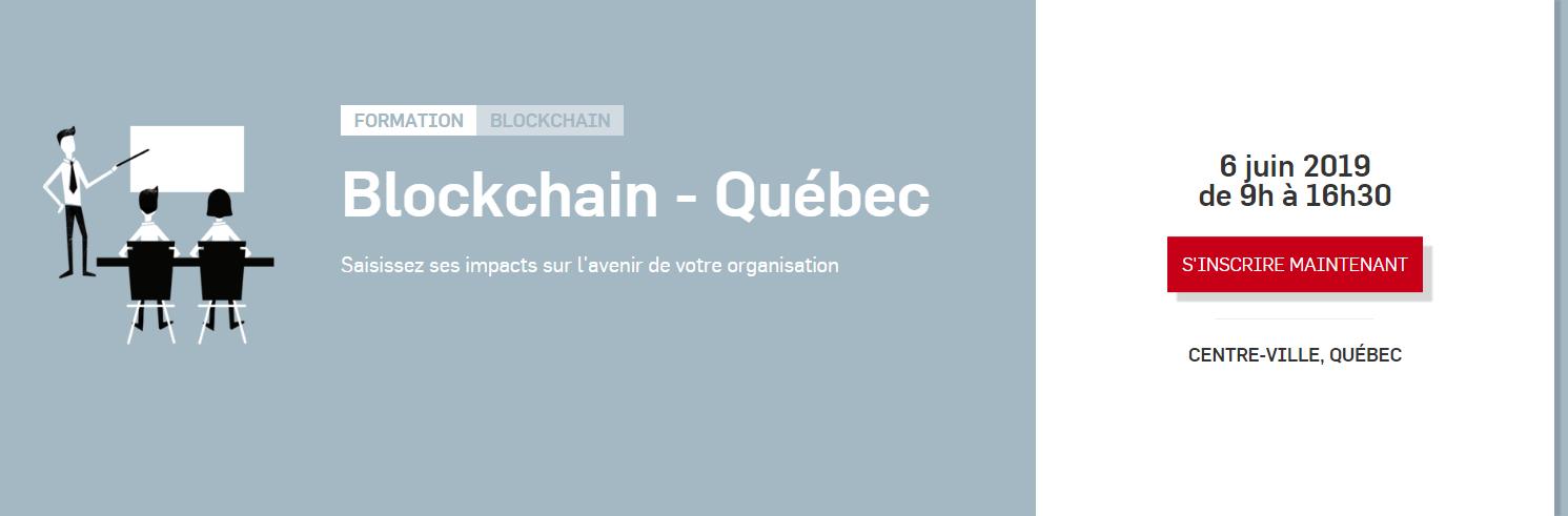 Le blockChain Quebec