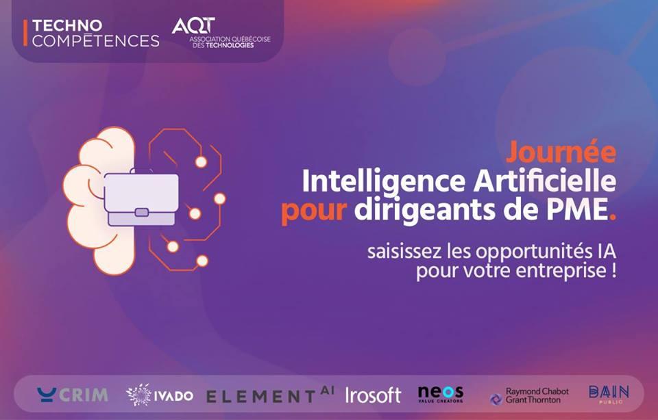 Journée Intelligence Artificielle pour dirigeant(e)s de PME