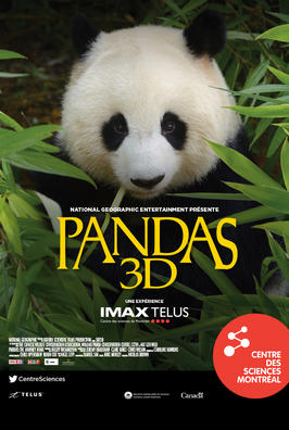 Centre des sciences / pandas 3D