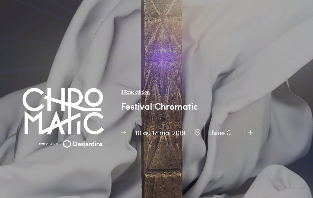 Festival Chromatic 2019