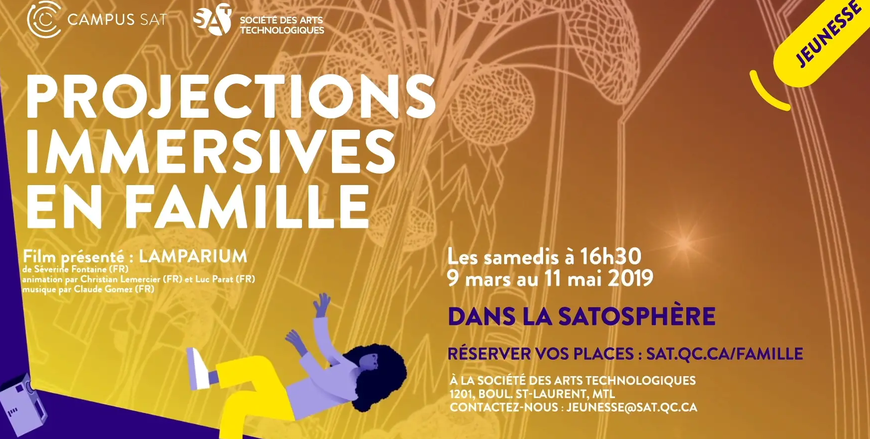 PROJECTIONS IMMERSIVES EN FAMILLE – LAMPARIUM