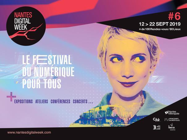 Rejoignez le Printemps numérique et participez à la Nantes Digital Week !