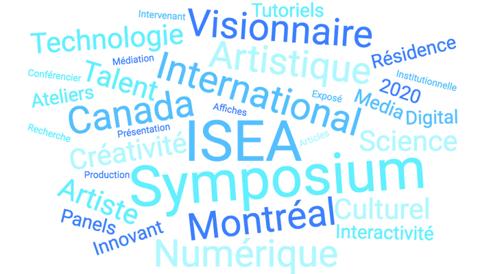 ISEA2020 : APPEL À PARTICIPATION
