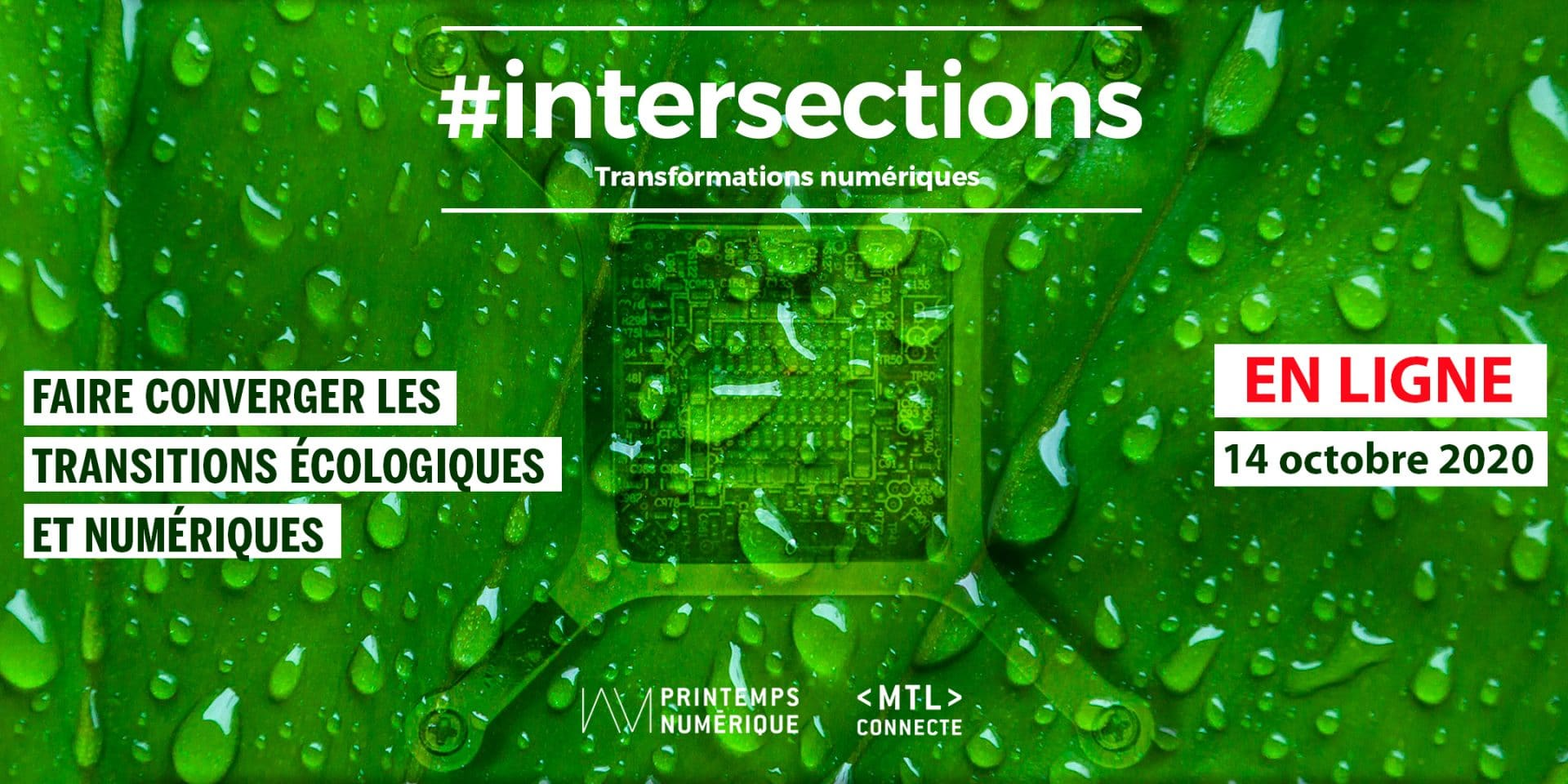 #intersections VOL.12: Sustainable development: bringing togetherecological and digital transitions
