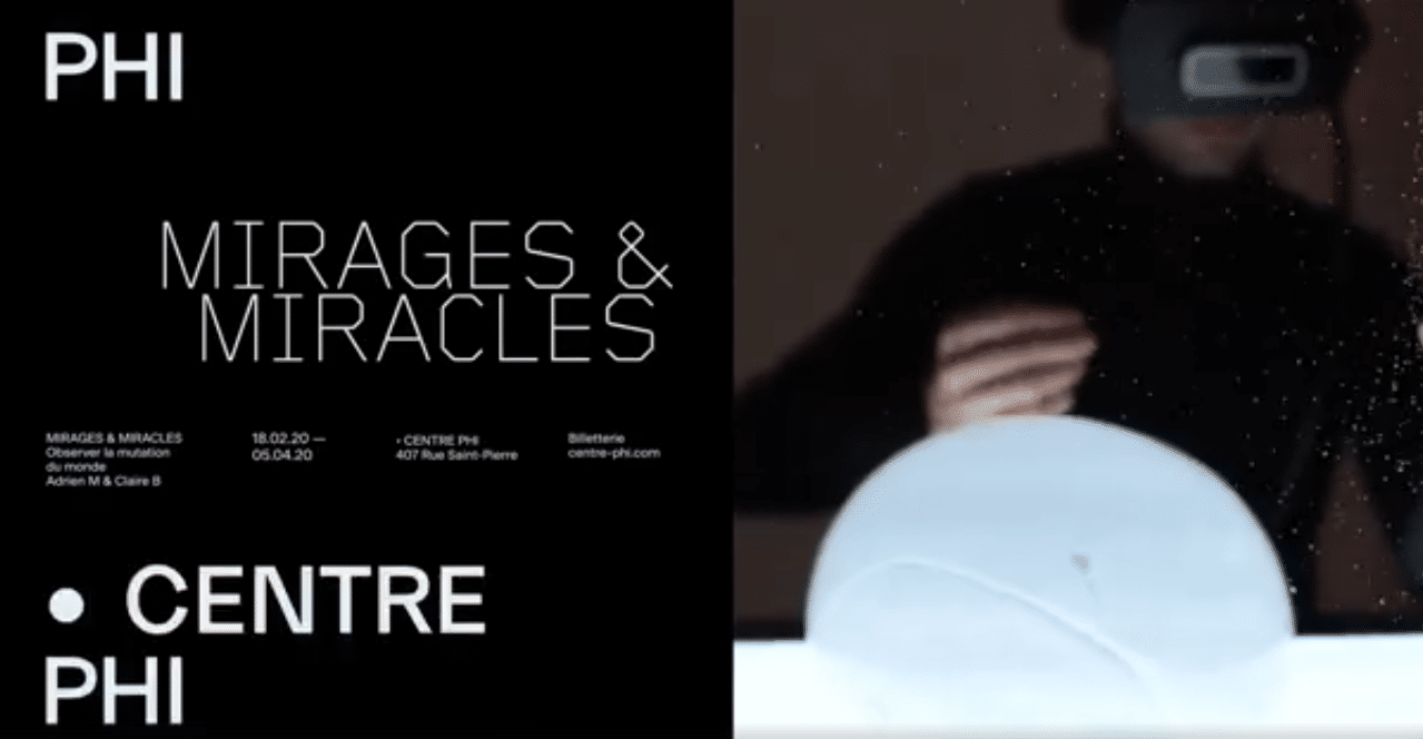 Mirages & miracles de Adrien M & Claire B au Centre Phi