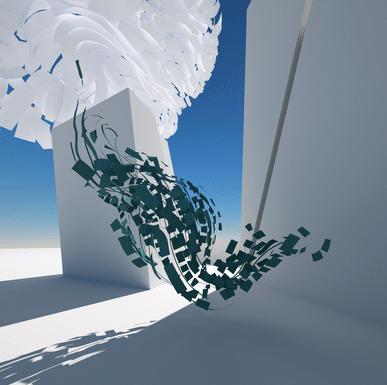 Papier flottant – Floating Paper