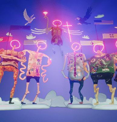 Oeuvre en réalité virtuelle – Artiste : Vladimir Storm