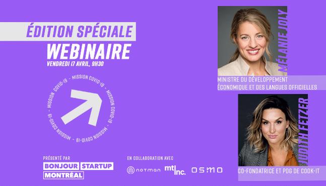 Webinaire Bonjour Startup Montréal: Édition spéciale !