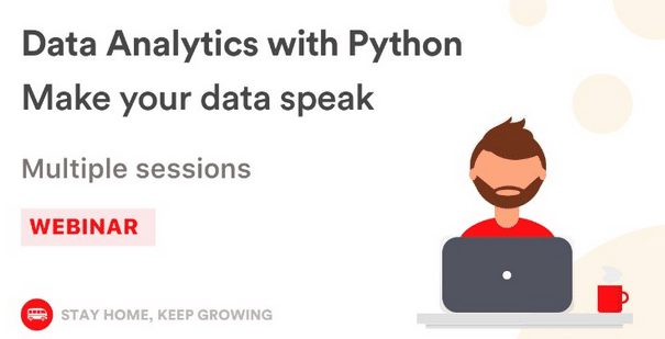 Data anaylitc with PYTHON, Make your data speak