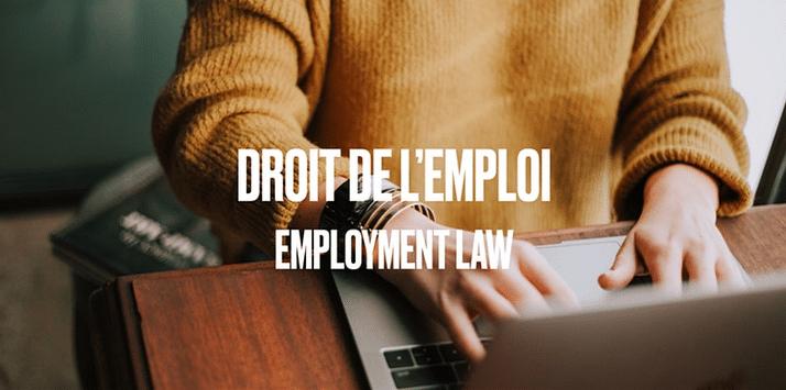 COVID-19: Droit de l'emploi