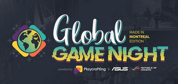 GLOBAL GAME NIGHT: Made in Montreal