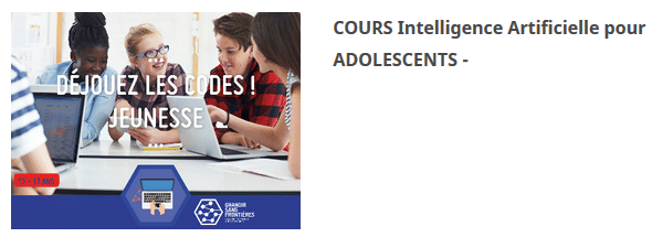 Intelligence Artificielle pour Adolescents