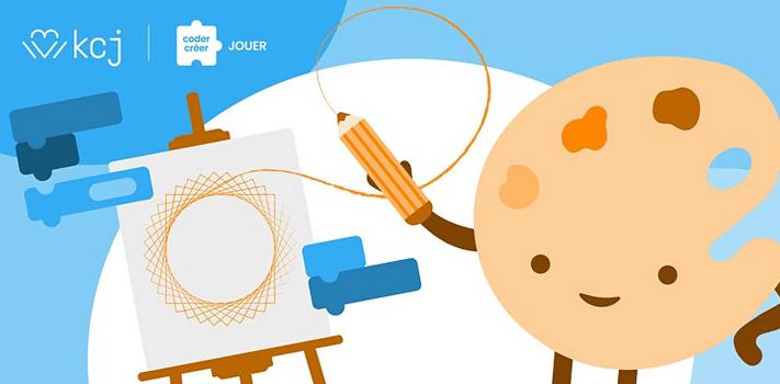 On dessine! – atelier en ligne sur l'art & le codage (CodeTaCommunauté)