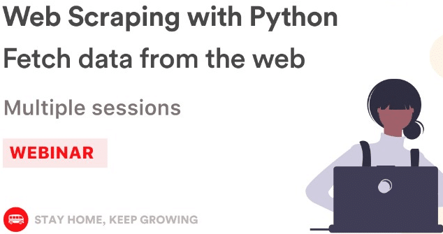 Web scraping with PYTHON, fetch data from the web