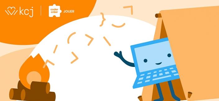 CodeTonCamping – atelier en ligne gratuit* | 5 jours