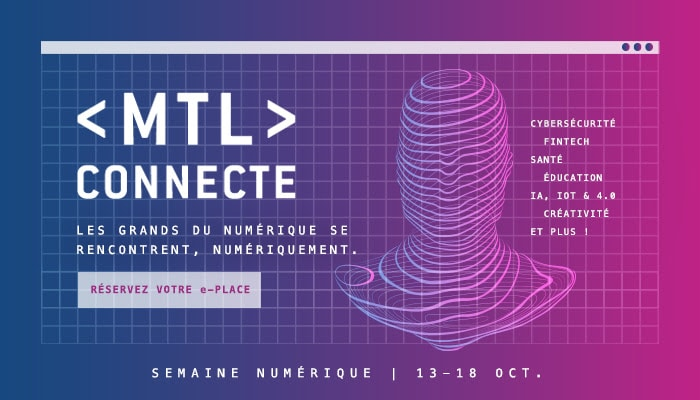 Enjoy the early bird rate to participate in MTL connect 2020!