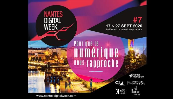 Participez à la Nantes Digital Week 2020 !