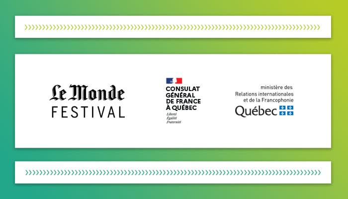 Collaboration entre Le Festival du Monde et MTL connecte