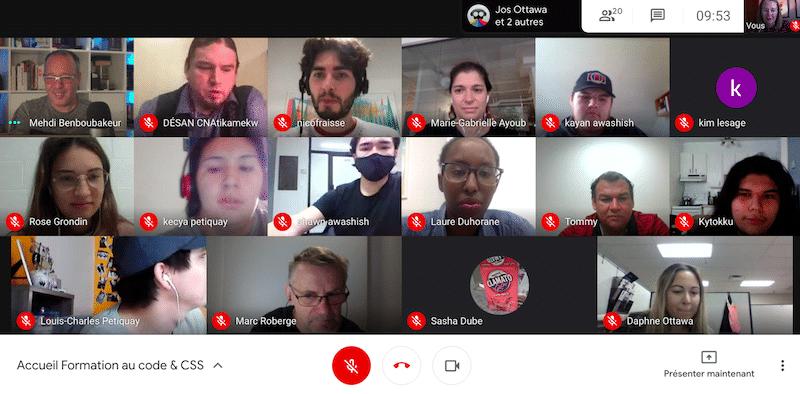 Atelier de codage chez la nation Atikamekw : explorer les possibilités du numérique
