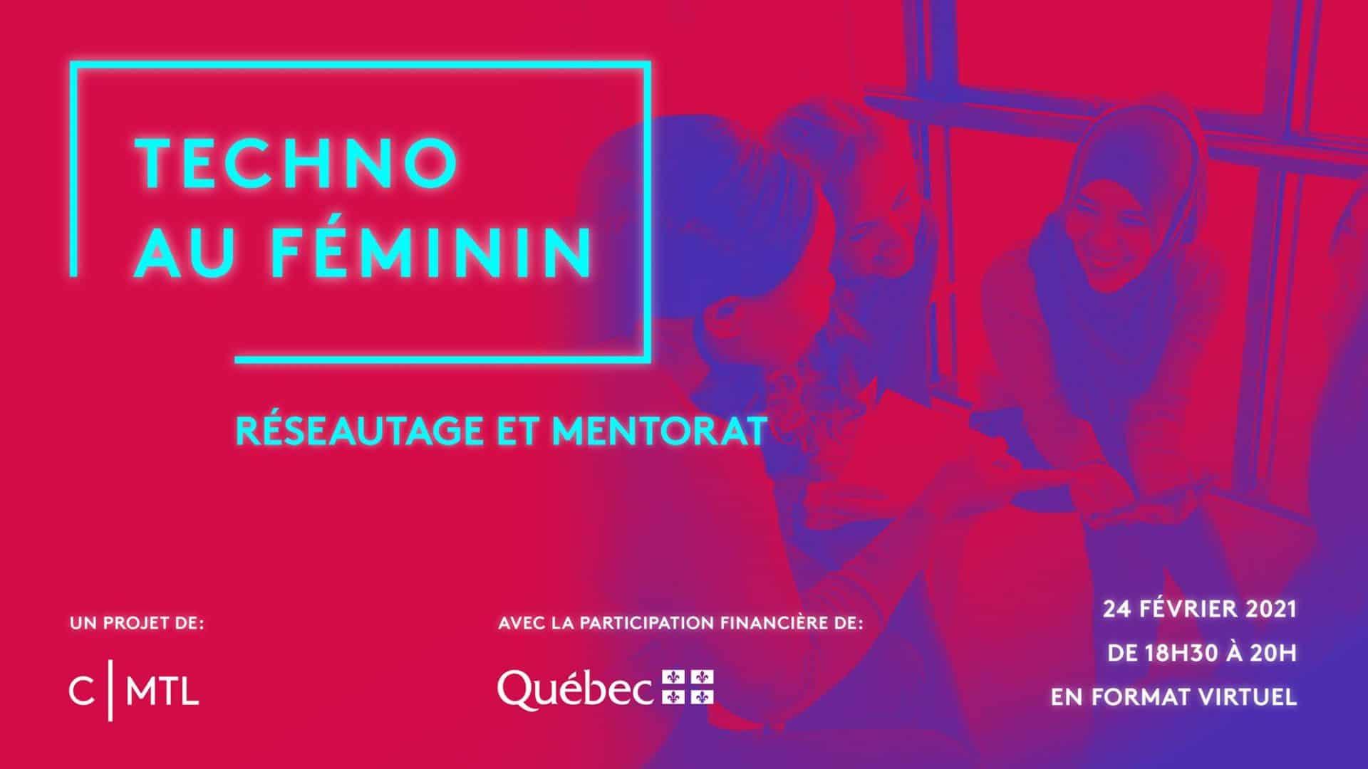 Réseautage virtuel | Mouvement montréalais Les Filles & le code