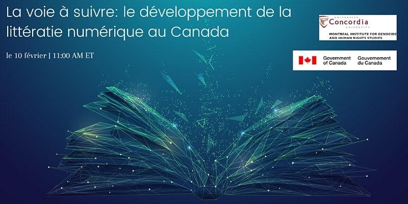 La voie à suivre: le développement de la littératie numérique au Canada