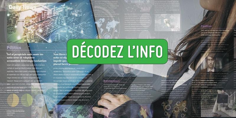 La désinformation en ligne (Atelier pour les jeunes de 14-25 ans)